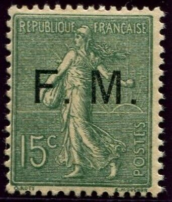 Lot N°3760a France Franchise Militaire N°3 Neuf ** LUXE