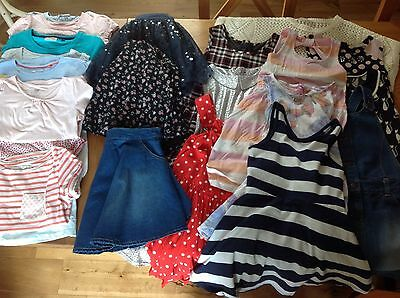 Girls age 7 summer bundle - 25 piece - Next, H&M