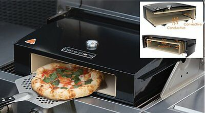 """Bakerstone Pizza Oven Sits on your BBQ Large 14"""" Ceramic Stone & Bag Accessories"""
