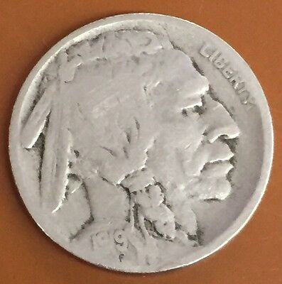 1919-S Buffalo Nickel : Nice Circulated Condition : Over 6000+ Items