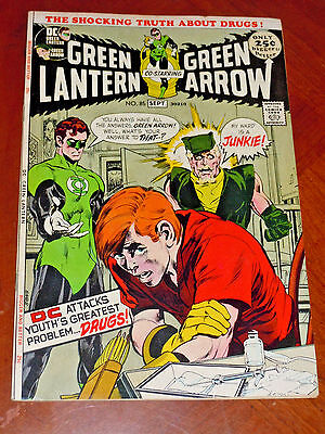 GREEN LANTERN #85 (DC 1971)  VF (8.0) cond. NEAL ADAMS  DRUG STORY KEY