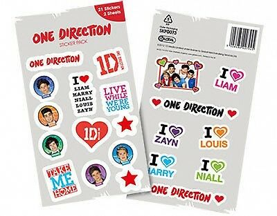 ONE DIRECTION forward pack 2013 STICKER PACK official merchandise 1D
