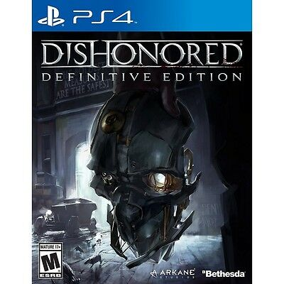 Dishonored The Definitive Edition PS4 Game - Brand New!