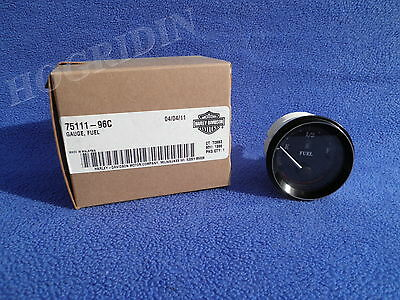 Harley touring electra glide classic road street fuel gas level gauge  75111-96C