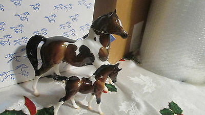 Breyer Web Special Glossy Julien And Sophia Set.  Hard to find Glossy version