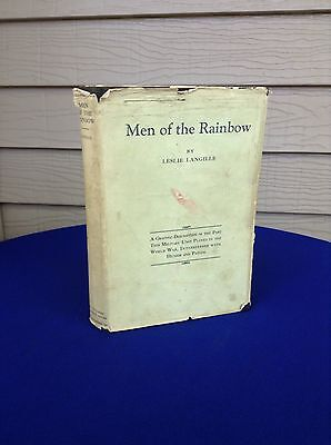 Men Of The Rainbow 42nd Div A.E.F. WWI US Army Leslie Langille w DJ  1st Rare