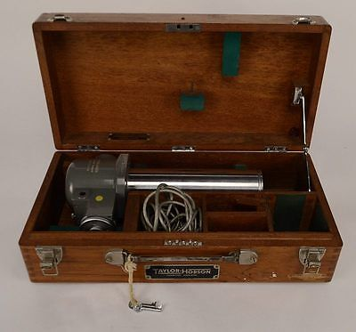 Taylor Hobson Auto Optical Collimator  No 112/274-18 w/ Lamp