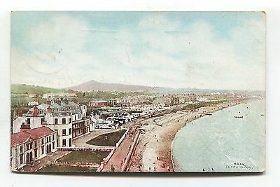 Bray, County Wicklow - 1906 used LNWR postcard of beach, promenade etc