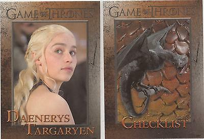 Game of Thrones Season 3 - 98 Card Base Set