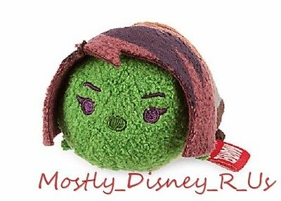 "NEW Disney Store Guardians of the Galaxy Gamora Tsum Tsum Mini Plush 3.5"" Toy"