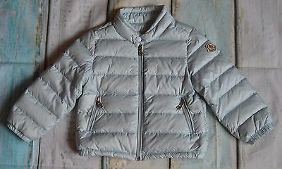 Moncler Baby Boy/Girl Designer Down Filled Lightly Padded Puffa Jacket 6-12 Mths