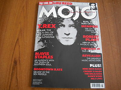MOJO MAGAZINE (plus CD) - MAY 2005 - T.REX, LOU REED, BOOMTOWN RATS
