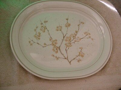 Corelle China Blossom 12.25 In Oval Serving Platter Vguc Free Shipping In Usa