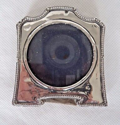 Antique 1921 Sterling / Solid Silver Small Photo Frame