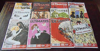 All-New Ultimates #1, 2, 3, 4, 5, 6, 7, 8, 9, 10, 11, 12 Set