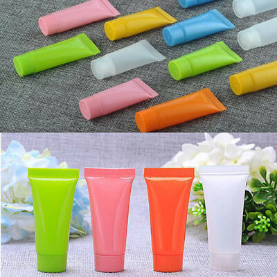 1-50pcs Travel Empty Cosmetic Hose Tube Cream Lotion Shampoo Containers Lot