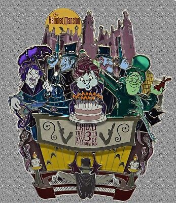 DISNEY Pin LE 500 - Friday the 13th JUMBO - Haunted Mansion - WDW