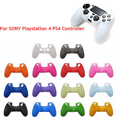 Colors Silicone Skin Cover Protection Case For SONY Playstation 4 PS4 Controller