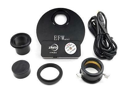 """ZWO motorised Filter Wheel for 5x 1.25"""" or 5x 31 mm filters, AsiEFWMini"""
