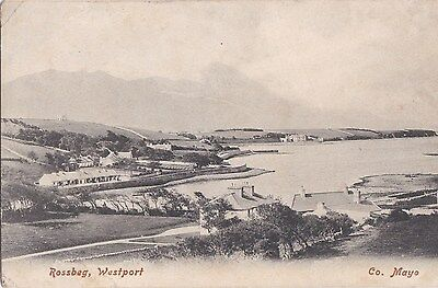 o irish postcard ireland mayo westport
