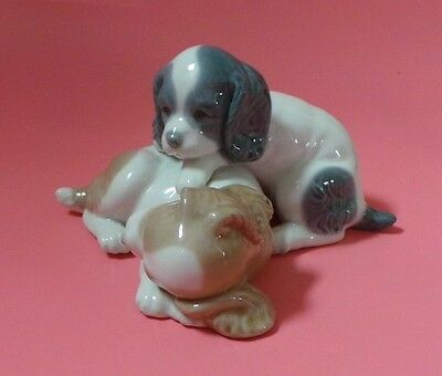 Nao Figure Two Dogs / Puppies WAKE UP