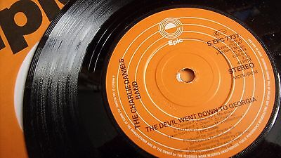 Charlie Daniels Band The Devil Went Down To Georgia Epic Label 1979 Fine Example