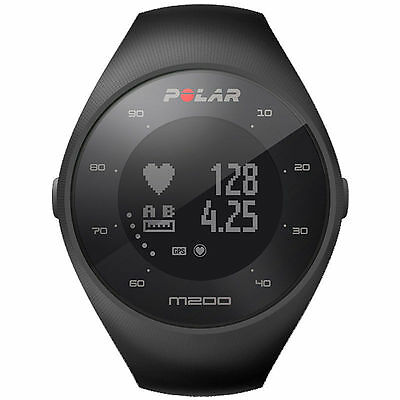 POLAR M200 Cardiofrequenzimetro GPS HR integrato Nero ART. 90061201