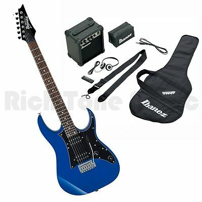Ibanez IJRG200E-BL Jumpstart Package - Blue