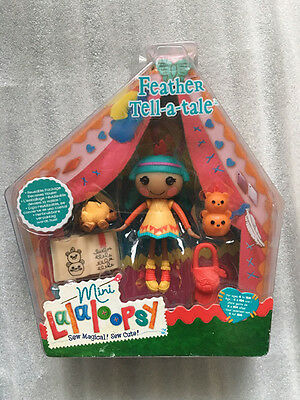 "boxed Mini Lalaloopsy Doll 3"" Feather Tell-a-Tale"