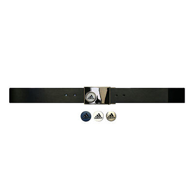Adidas Men's Reversible Belt with Three Ball Markers