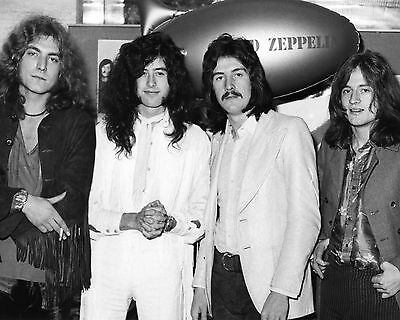 "Led Zepplin 10"" x 8"" Photograph no 14"