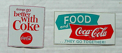 (Lot Of 2) The Coca-Cola Company Different Decals