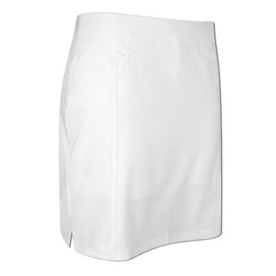 Adidas Ladies Pull-On Skort with ClimaChill® in White