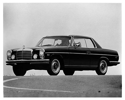 1971 Mercedes Benz 250 Coupe Factory Photo uc0673