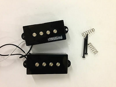 NEW Wilkinson P-Bass Black Pickup, For Bass Guitars, MWPB Model