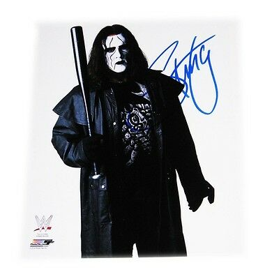 Wwe Sting The Icon Hand Signed Autographed 8X10 Photo File Photo With Coa 2