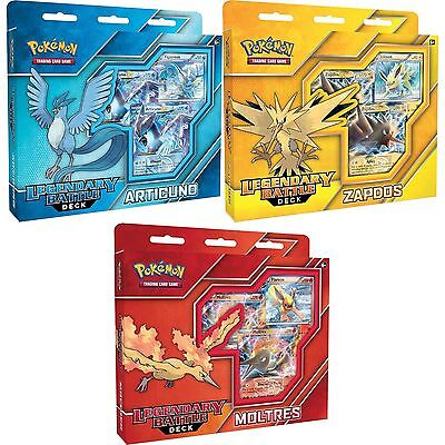 Pokemon Legendary Battle Deck Articuno/Zapdos/Moltres - Brand New!