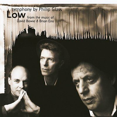 Philip Glass Low Symphony Lp Vinyl 33Rpm New