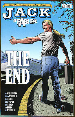 Jack of Fables #9: The End-Bill Willingham-First Printing-2007-Brian Bolland