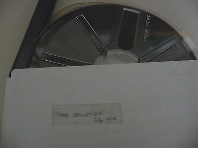 Cine film super 8 colour THE SOLUTION 26min 400ft unknown content NEW ???   A1