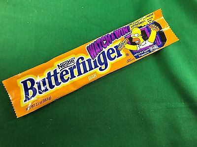 The Simpsons Simpson Family Homer Butterfinger Candy Bar Wrapper