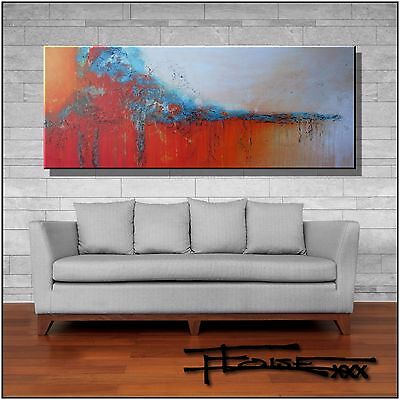 Large Abstract Painting CANVAS WALL ART 60in Direct from Artist USA  ELOISExxx