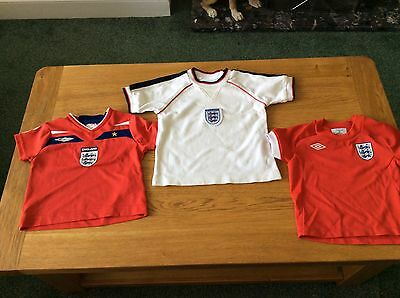 Baby's England Collection 3 Shirts & 1 Shorts 6-12 M & 2 Year