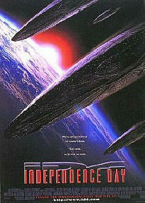 INDEPENDENCE DAY ~ ID4 ~ SHIPS ~ 27x40 MOVIE POSTER ~ NEW/ROLLED!