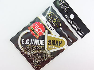 EVERGREEN - EG WIDE SNAP #1 Qty.50 Economy Pack!!