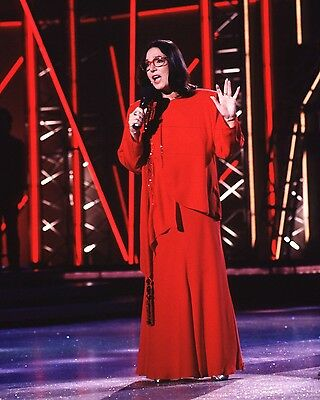"Nana mouskouri 10"" x 8"" Photograph no 1"