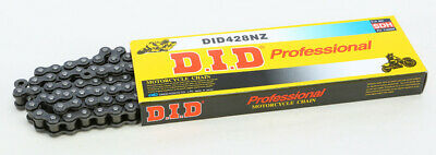D.I.D 428NZ-120 LINK 428 NZ Super Non O-Ring Series Chain 120 Links Black