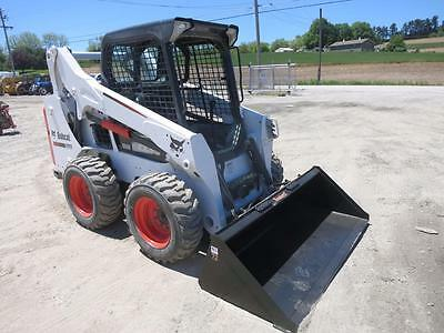2015 Bobcat S530 Skid Steer Loader, AUX Hydraulics, Foot Controls, 49 HP Diesel