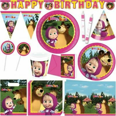 Masha and The Bear PARTY SUPPLIES DECORATION BIRTHDAY TABLEWARE Balloons