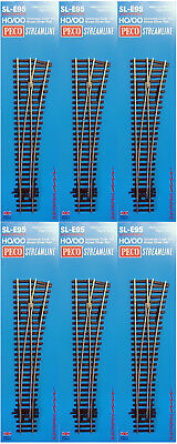 Peco Code 100 Oo/ho Electrofrog Medium Radius Right Hand Point Bulk X6 Pesle95B